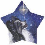 "papillon Christmas Ornament<br><div class=""desc"">from an original painting by L.A.Shepard</div>"