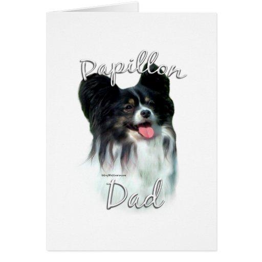 Papillon Dad 2 Card