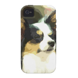 PAPILLON  DOG ART Case-Mate iPhone 4 COVER