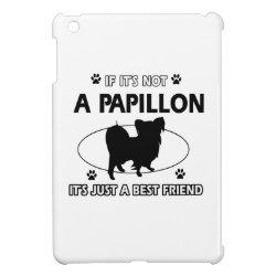 Case Savvy iPad Mini Glossy Finish Case with Papillon Phone Cases design