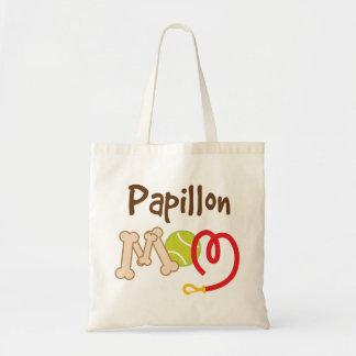 Papillon Dog Breed Mom Gift Tote Bag