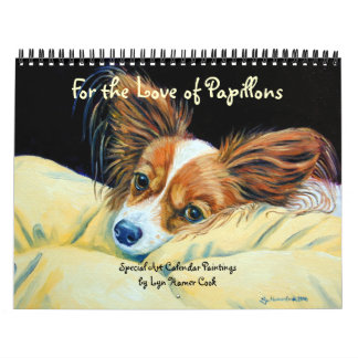 Papillon Dog Calendar