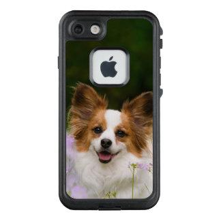 Papillon Dog Cute Romantic Pet Photo /- waterproof LifeProof FRĒ iPhone 7 Case