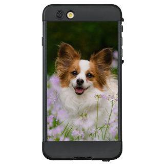 Papillon Dog Cute Romantic Photo -_ waterproof LifeProof NÜÜD iPhone 6 Plus Case