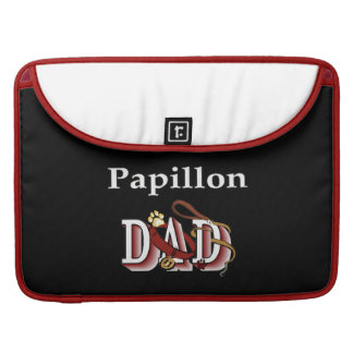 Papillon Dog Dad MacBook Pro Sleeve