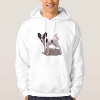 Papillon Dog Hoodie