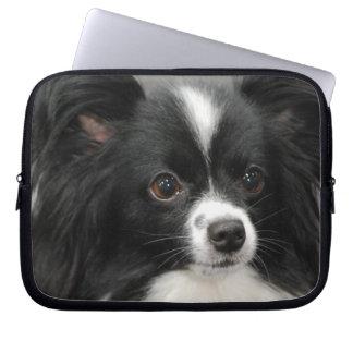 Papillon Dog Laptop Sleeve