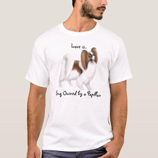 Papillon Dog Love Shirt