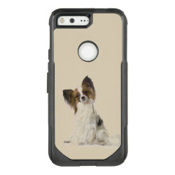 OtterBox Google 5 with Papillon Phone Cases design