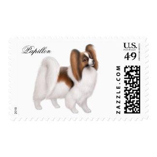 Papillon Dog Postage