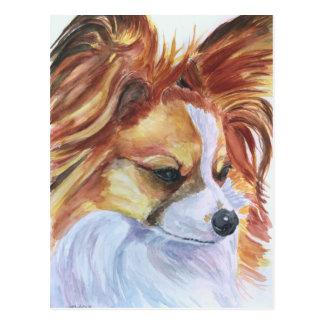 Papillon Dog Postcards