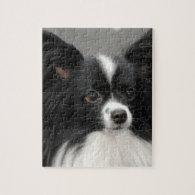 Papillon Dog Puzzle