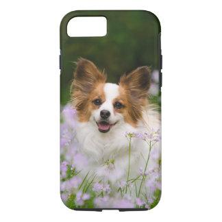 Papillon Dog Romantic Portrait, cover