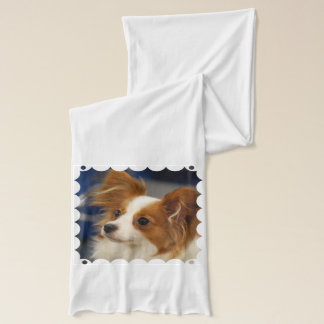 Papillon Dog Scarf