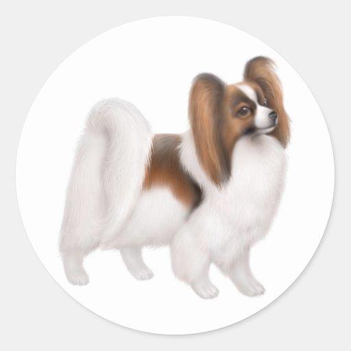 Papillon Dog Sticker