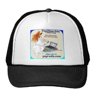 Papillon-edu logo products trucker hat