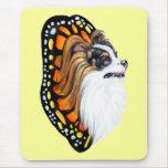 Papillon Fantasy Wings Mouse Mats