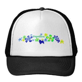 Papillon Flowers Trucker Hat