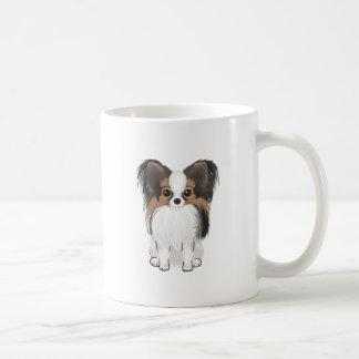 Papillon (imagen) taza de café