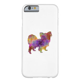 Papillon in watercolor barely there iPhone 6 case