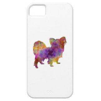 Papillon in watercolor iPhone SE/5/5s case