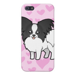 Papillon Love (add your own pern) Case For iPhone SE/5/5s