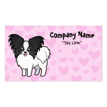 Papillon Love Business Card Template