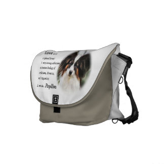 Papillon Love Gifts Courier Bag
