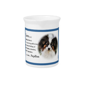 Papillon Love Gifts Pitcher