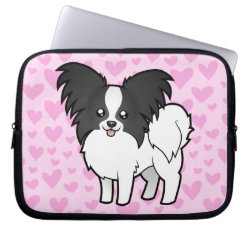 Papillon Love Laptop Sleeve