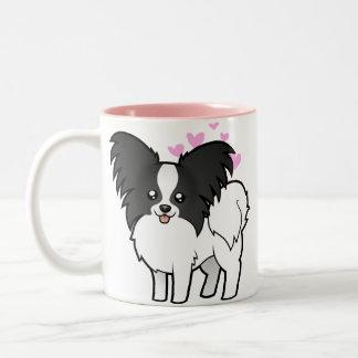 Papillon Love Coffee Mugs