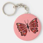 Papillon (mariposa) llaveros