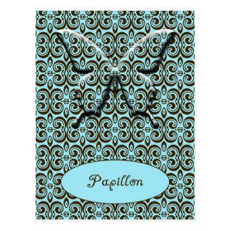 Papillon - mariposa postal