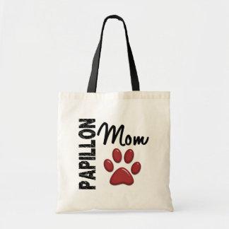 Papillon Mom 2 Tote Bag