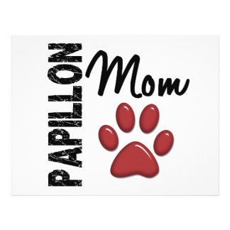 Papillon Mom 2 Custom Flyer
