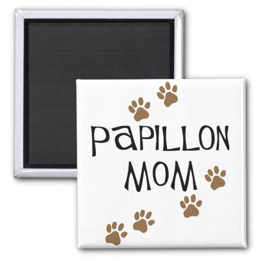 Papillon Mom Magnet