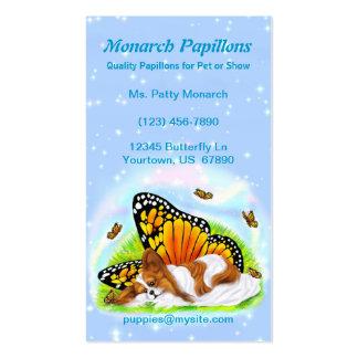 Papillon Mystical Monarch Business Cards