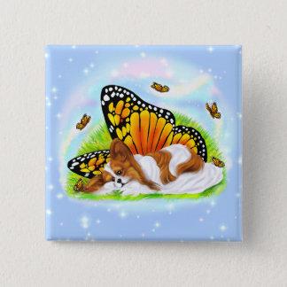 Papillon Mystical Monarch Button