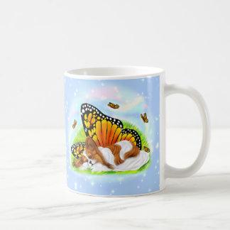 Papillon Mystical Monarch Classic White Coffee Mug