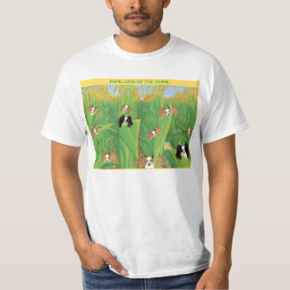 Papillon of the corn (white) t-shirt