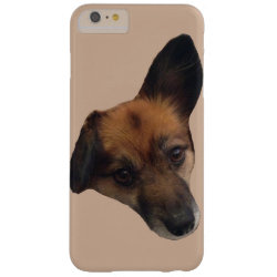 Papillon Pomeranian Barely There iPhone 6 Plus Case