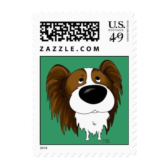 Papillon Postage Stamps