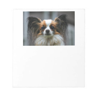 Papillon Puppy Dog Notepad