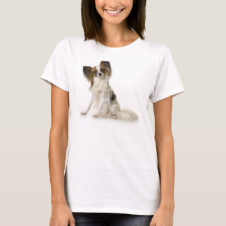 Papillon Puppy interrogative T-Shirt