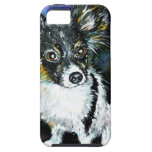 Papillon puppy iPhone 5 cases