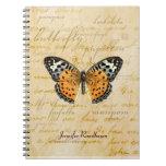 Papillon redacta el cuaderno