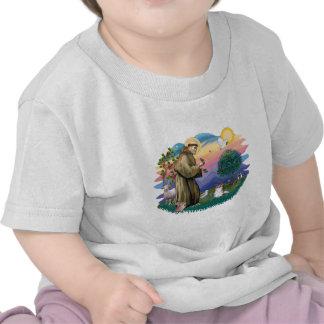 Papillon (sable-blanco) camisetas