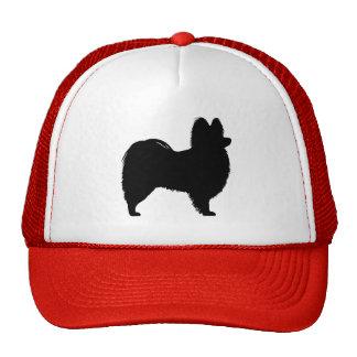 Papillon Silhouette Trucker Hat