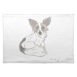 Papillon Sketch Placemats