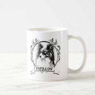 Papillon T-shirt Coffee Mugs